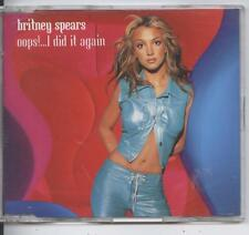 Britney Spears - Oops! ... I Did It Again (CD Single)