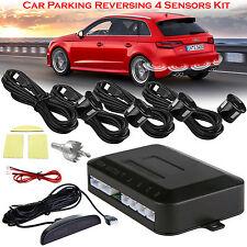 Car Rear Reversing Reverse 4 Sensors Backup Parking LED Display Buzzer Alarm Kit