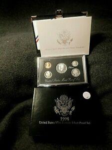 1998 U.S.Mint Premier Silver Proof Set