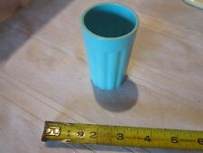 Fisher Price Fun Food teal light blue drinking cup glass plastic toy part lunch