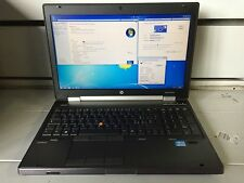 PORTATILE NOTEBOOK Workstation HP EliteBook 8570w Core i7 16Gb 128ssd quadro 2gb