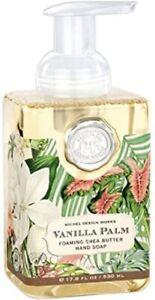New Sealed Vanilla Palm Michel Design Works Foaming Hand Soap 17.8 fl oz