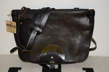 Ralph Lauren RRL Distressed Full Leather Shoulder Messenger Mailbag Bag