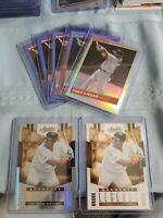 2020 Donruss Tony Gwynn Retro 1986 Blue/Pink/Silver Holo + 2 Absolute Card Lot