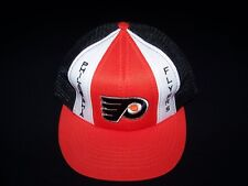 Philadelphia Flyers Vintage Snapback 1980s NHL Hockey hat mesh back truckers cap