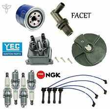 Tune Up Kit Filters Cap Rotor Wires & NGK Plugs for Honda Civic del Sol 93-95