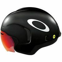 Oakley ARO7 Aero Triathlon Helmet Black Large MIPS BOA New in Box