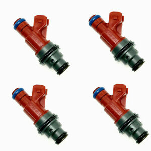 4 x OE 4 Hole Fuel Injectors 0280155749 for Saab 9-3 / 9-5 2.3L
