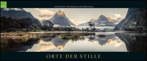 GEO SAISON Panorama: Orte der Stille 2022 - Panorama-Kalender - 120x50