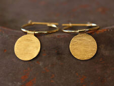 Open Circle Hoop Earrings 14K Gold Filled Sterling Silver New Jewelry Free Post