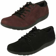 Ladies Clarks Leather Lace Up Shoes UK Sizes 4-8 Medora Bella