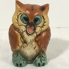 Screaming Screeching Owl Bank Vintage Japan