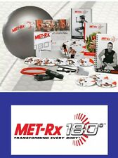 MET-RX 180 Brand New & Sealed allenamento totale del programma. Fitness DVD's & Equipment