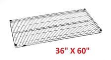 "METRO 36"" X 60"" SUPER ERECTA HEAVY-DUTY ADJUSTABLE WIRE SHELVING **XLNT**"