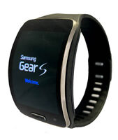 Samsung Galaxy Gear S SM-R750V Verizon Curved Super AMOLED Smart Watch  - Black