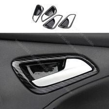 For Ford Focus 2012-2014 MK3 Carbon fiber color ABS Door Handle Bowl Cover trim