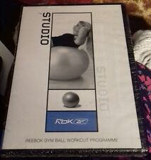 dvd reebok gym ball workout programme exercise new sealed studio