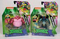 Lot Of 2 Nickelodeon 2018 Teenage Mutant Ninja Turtles Playmates Toys TMNT