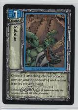 1998 Jim Lee's C-23 Collectible Card Game Base #118 Subdue Gaming 0b5