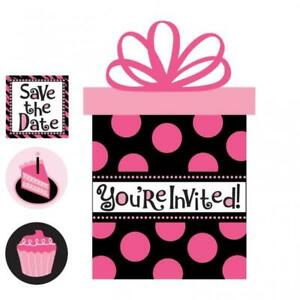 Oh So Fabulous Another Year Fabulous Party Invitations Value Pack 20 Invites