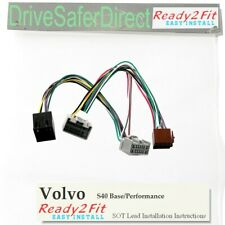 ISO-SOT-8582-u Cable for Parrot CK3100 Volvo S40 04- Base/Performance Sound