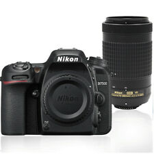 Nikon D7500 20.9MP Digital SLR Camera with 70-300mm AF-P DX Nikkor Lens