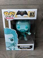 Pop Heroes Batman Vs Superman 87 Aquaman Blue Vinyl Figure Funko