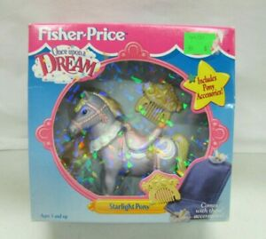 New Fisher Price Once Upon a Dream Dollhouse STARLIGHT PONY Loving Family Castle