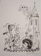 Ex-libris de Walthéry Bout d'Chique #1 Signé