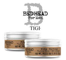 2 PEZZI Tigi Bed Head Pasta modellante Pure Texture per capelli Uomo