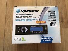 Roadstar RU-285RD/HP Car Radio USB-Black
