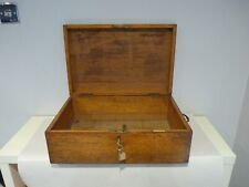 Large Mappin & Webb Wooden Box,Brass Fittings,49x32.5x16 cms.