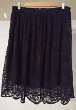 Xhilaration Black Lace Boho Skirt Womens Size L