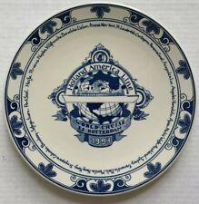 1993 HOLLAND AMERICA LINE SS ROTTERDAM WORLD CRUISE WALL PLATE, MINT CONDITION