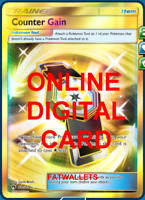 1X Counter Gain 230/214 Full Art Lost Thunder Pokemon Online Digital Card