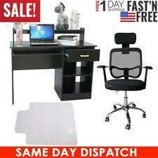 Us Hot Computer Home Office Corner Desk Chair Pad Laptop Study Table Workstation