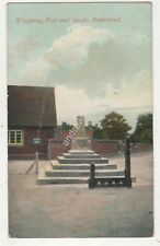 Whipping Post & Stocks Bottesford Leicestershire 1907 Postcard 703b