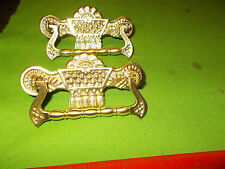 BEAUTIFUL ANTIQUE PAIR OF HEAVY CAST BRASS VICTORIAN DRAWER PULLS HARDWARE