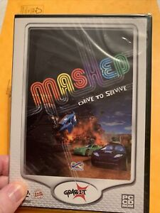 MASHED DRIVE TO SURVIVE. PC Game. Retro. NEW SEALED - Grabit