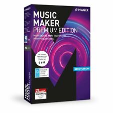 MAGIX Music Maker 2018 Premium Edition - NEU & OVP