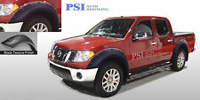 BLACK TEXTURED Pop-Out Fender Flares 05-14 Fits Nissan Frontier Crew Cab 59.5""