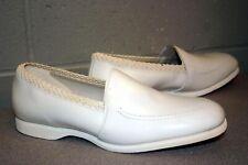 Nos 8.5 Ew Vtg 60s 70s Nurse Fantasy Uniform Shoe Waitress White Leather New
