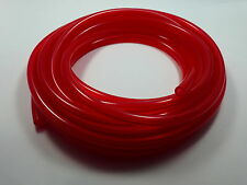 "50' 1/4""ID / 6mm Fast Flow Fuel Line for Cycle/ATV/Jetski/Snowmobile/Cart RED"