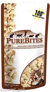 PureBites® Freeze Dried Turkey Breast Cat Treat .49oz / 14g