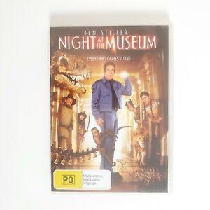 Night at the Museum Movie DVD Region 4 AUS Free Postage - Comedy Ben Stiller