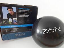 Zon 4 lb Weighted Exercise Ball 1.8 KG Vinyl Medicine Strength Training Program