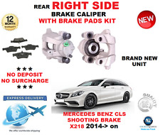FOR MERCEDES BENZ CLS X218 SHOOTING BRAKE 2014-> REAR RIGHT BRAKE CALIPER + PADS