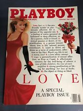 Playboy Magazine February 1989 Love A Special Playboy Issue Simone Eden