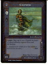 MIDDLE EARTH THE THE LIDLESS EYE RARE CARD CALENDAL grade 9/10