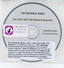 (DQ250) The Dreaming Spires, Just Can't Keep This Feeling In - DJ CD